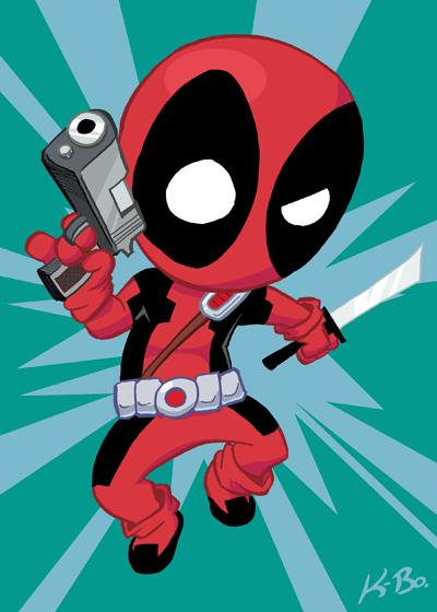Deadpool Art Card