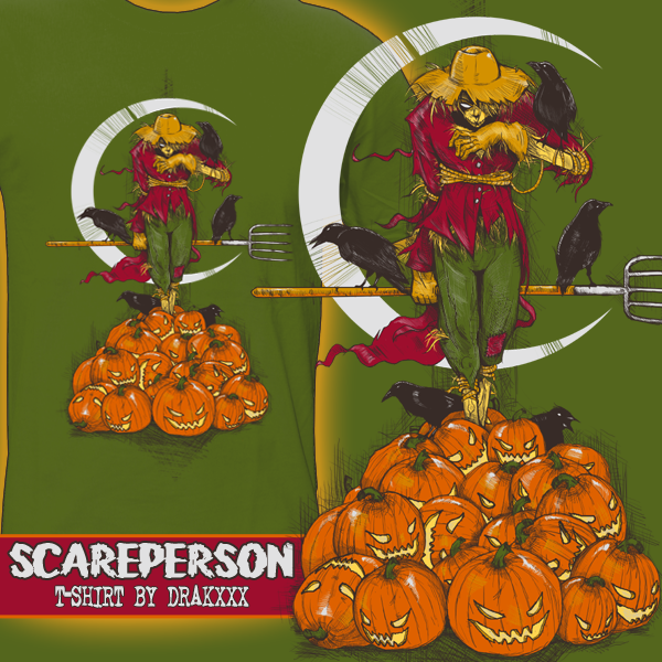 Scareperson T-Shirt