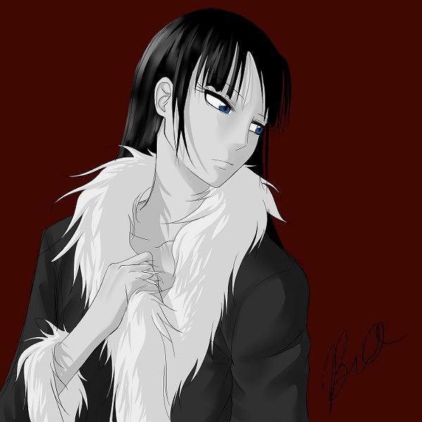 Skye with a Fur Coat