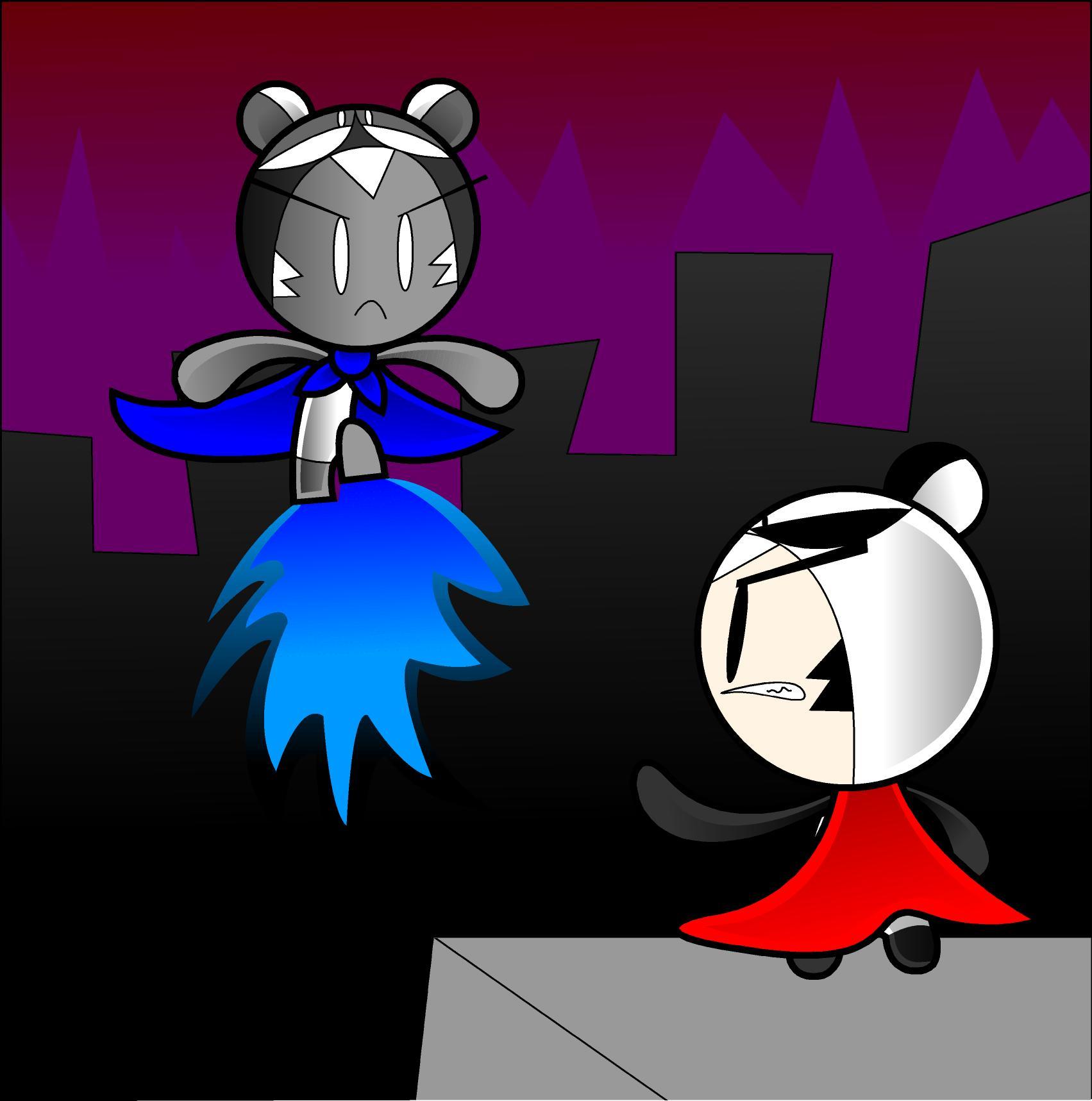 Pandaman vs AntiPandaman