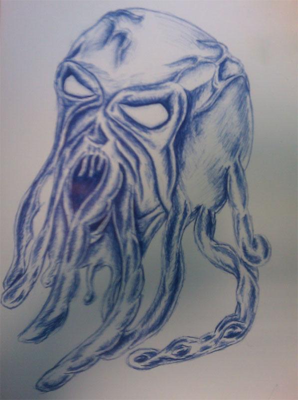 Kinda Octopus head