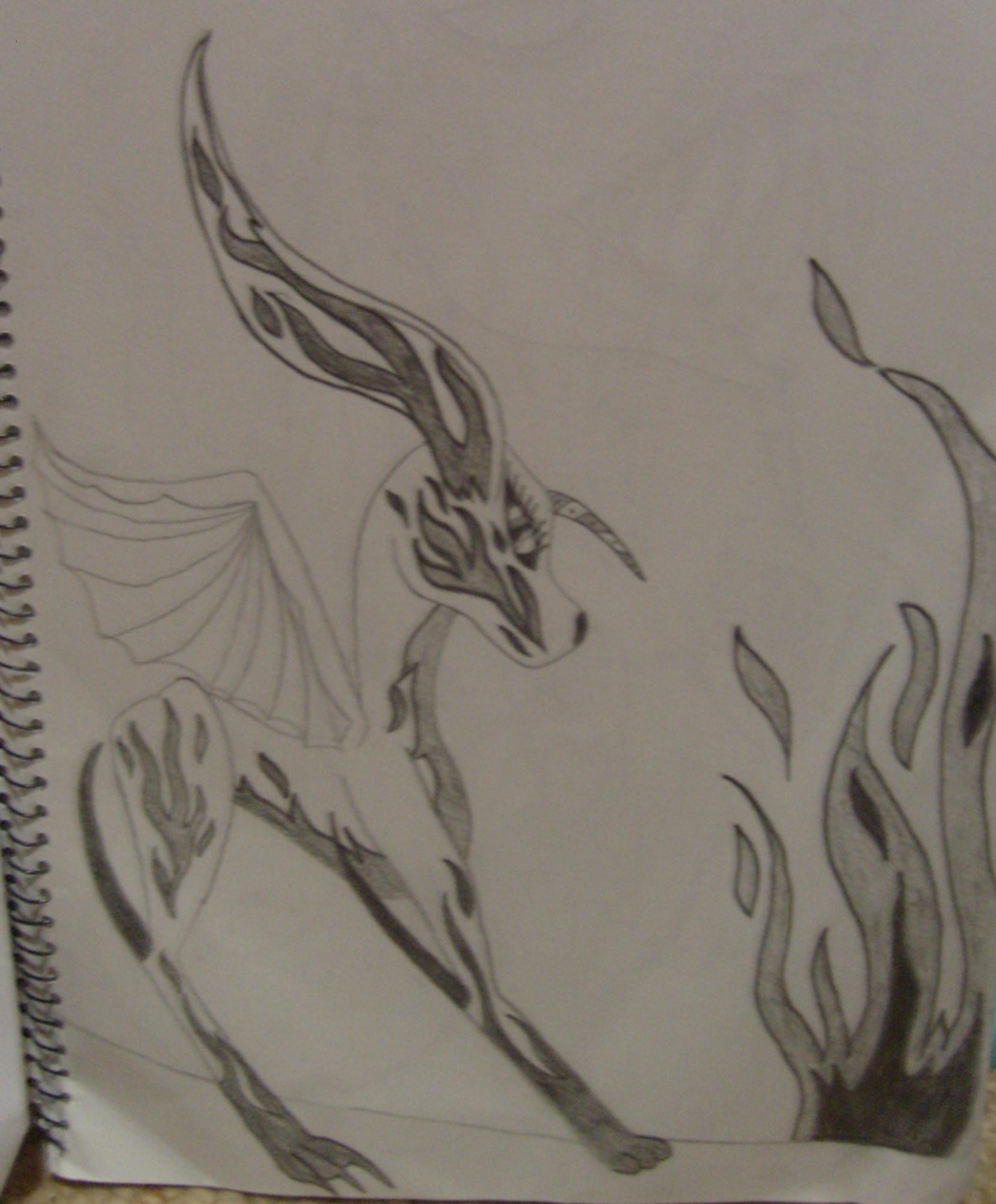dragon/ dog