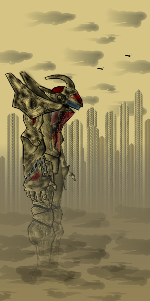 Catafalque Bot in Ghost City