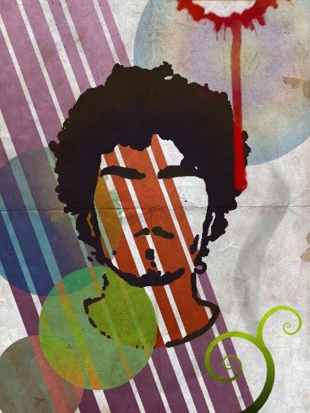 Grunge Self-Portrait