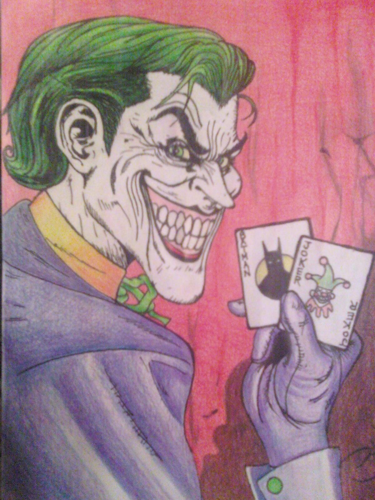 My rendition of the Joker