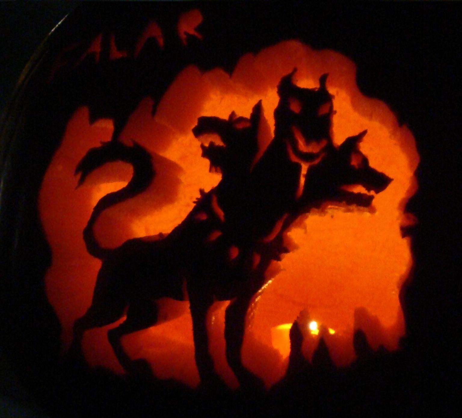 Halloween pumpkin (photo)