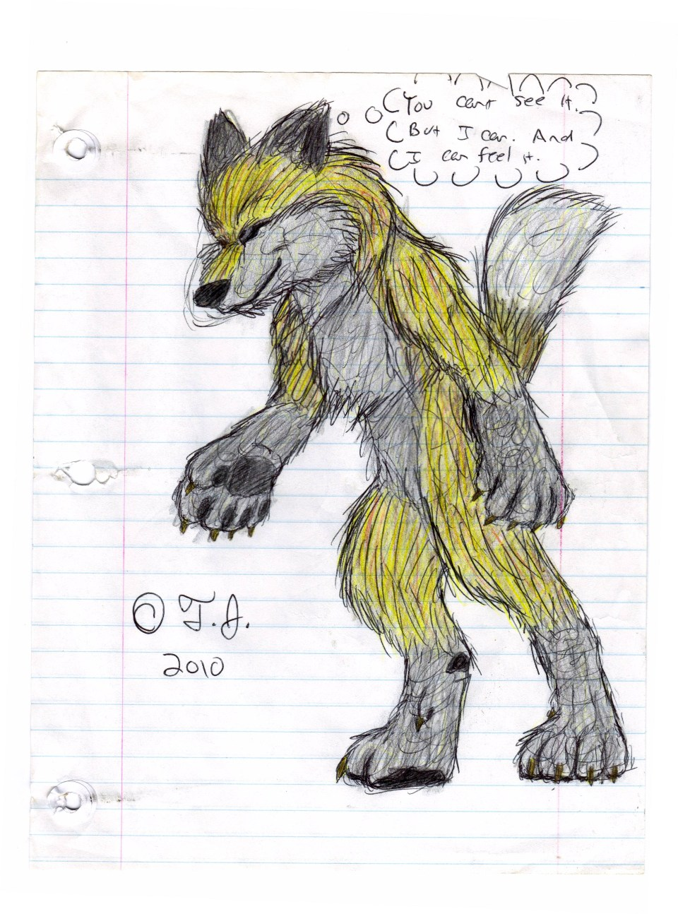 The Wolven Gold Fox