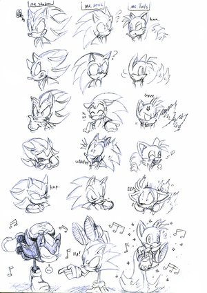 Shadow, Sonic and Tails
