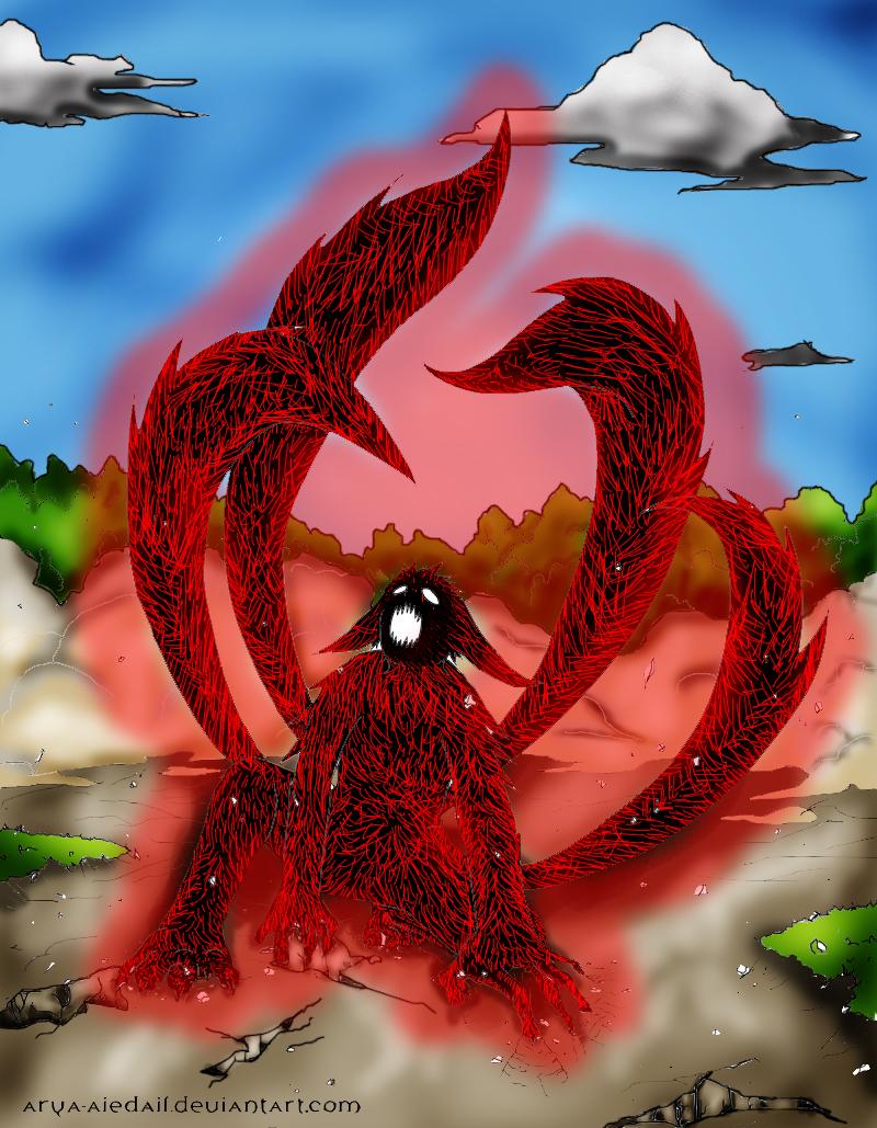 Four Tails Naruto