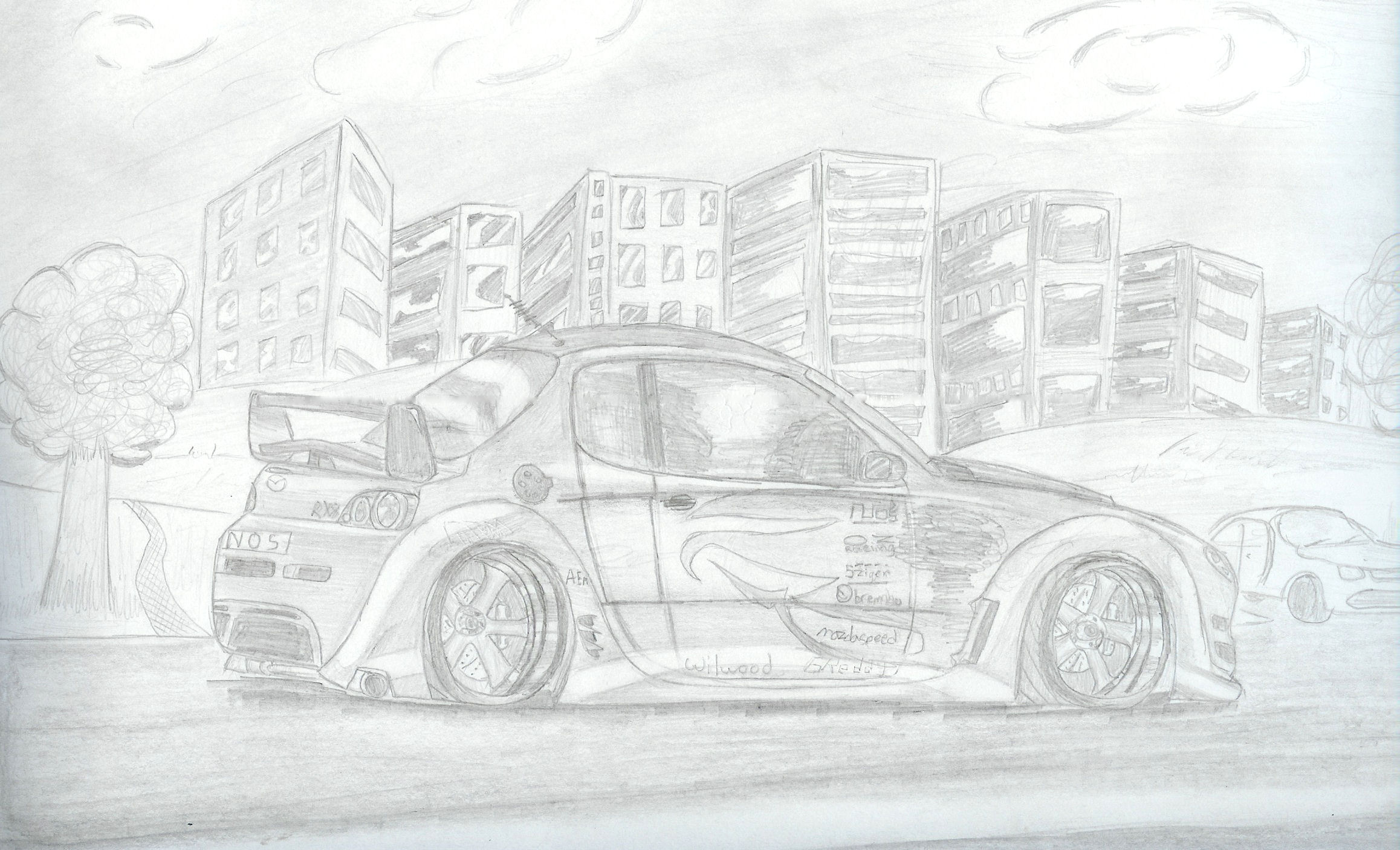 RX-8 Mazda Street Racer