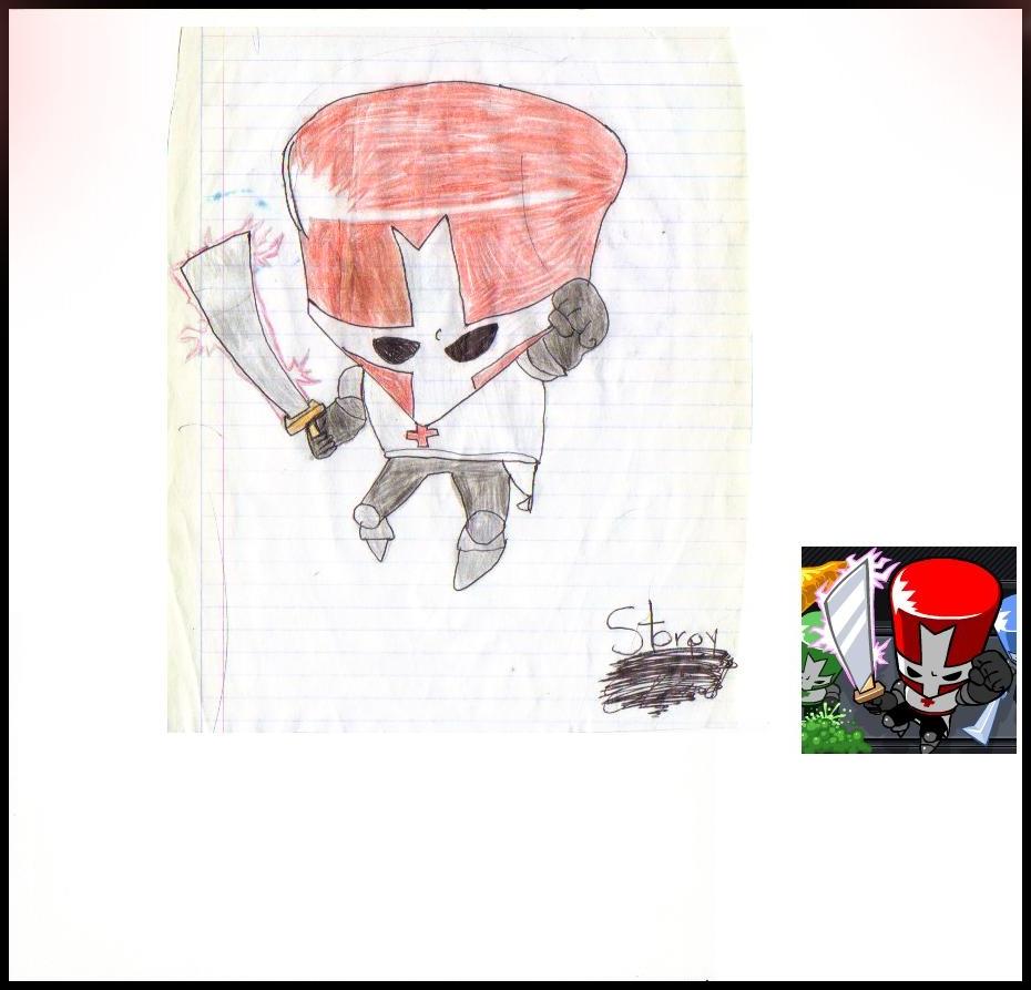 Castle Crasher - Red Guy