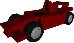 Low Poly F1 Racer