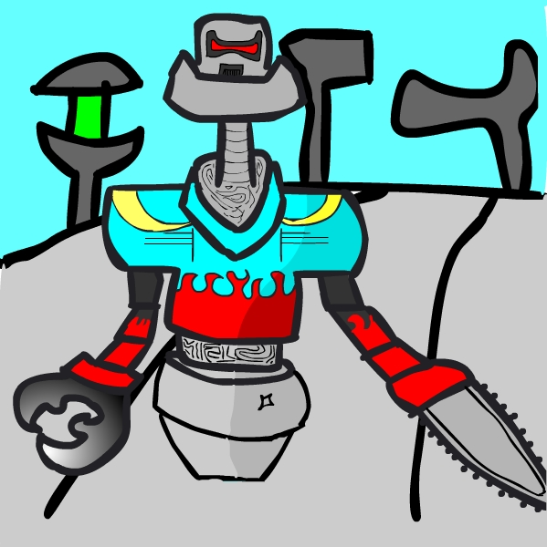 Robot day, Bruce Campbellbot
