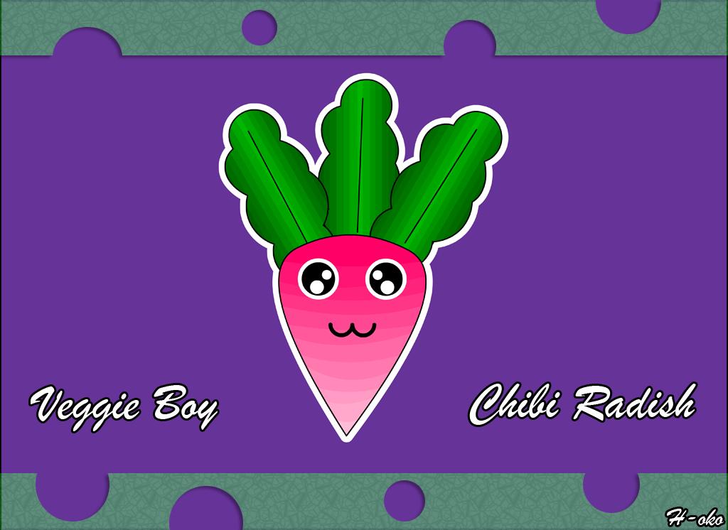 Chibi Veggie Radish