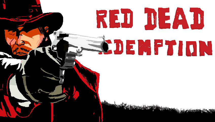 Red Dead Redemption Pixel Art