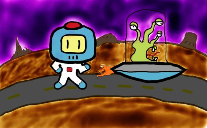 Alien Stole my Hovercraft