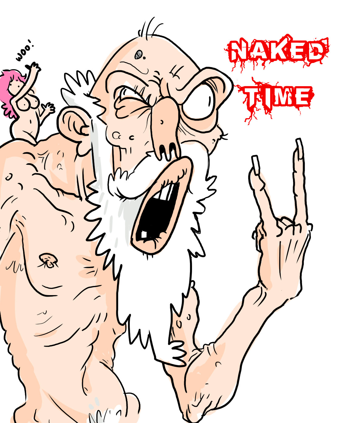 naked time woo!