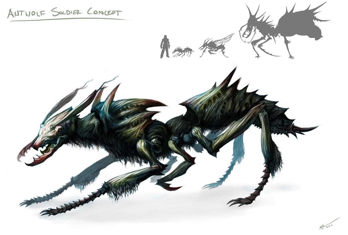 Antwolf Soldier Concept