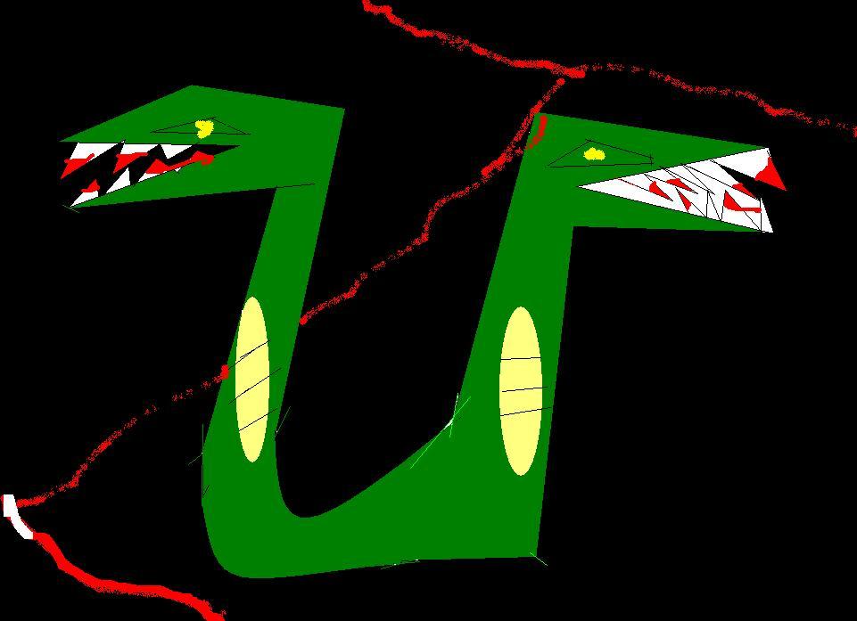 Mutant Garter Snake