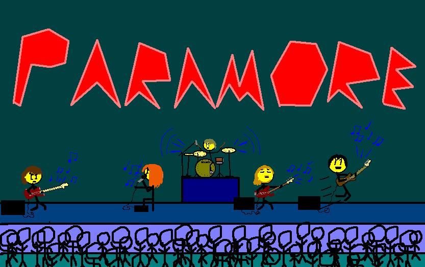 Paramore Stick Figures!
