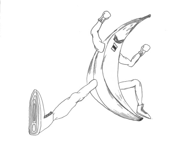 Banana-Man Ultimate Kick