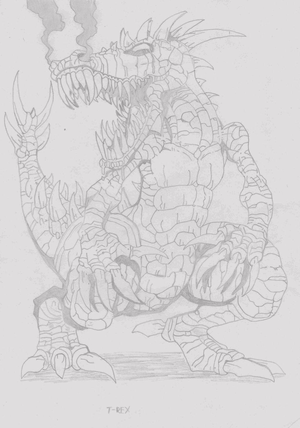 Mutated T-Rex