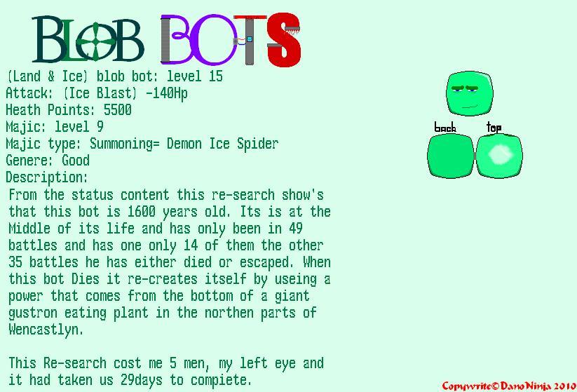 Blob Bots IceLand