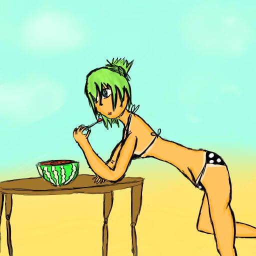 Scene of Summer-Watermelon