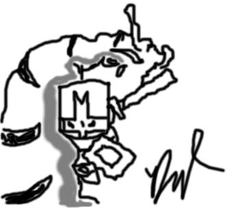 Castle Crashers Sketch 1