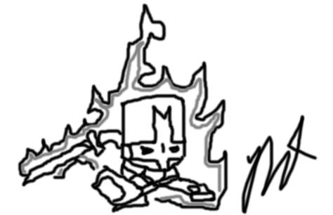 Castle Crashers Sketch 2