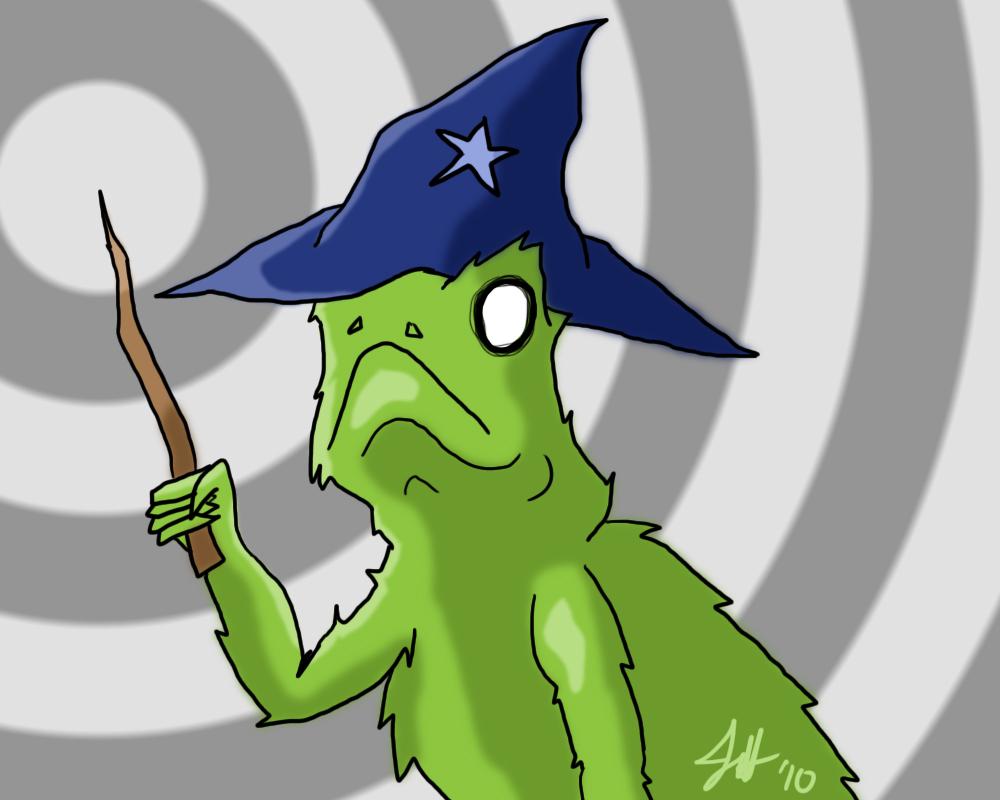 Behold... the Lizard Wizard!