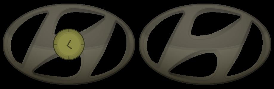 Hyundai Clock Version 5