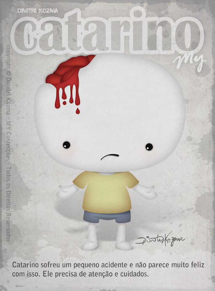 Toy Art Tag Card - Catarino