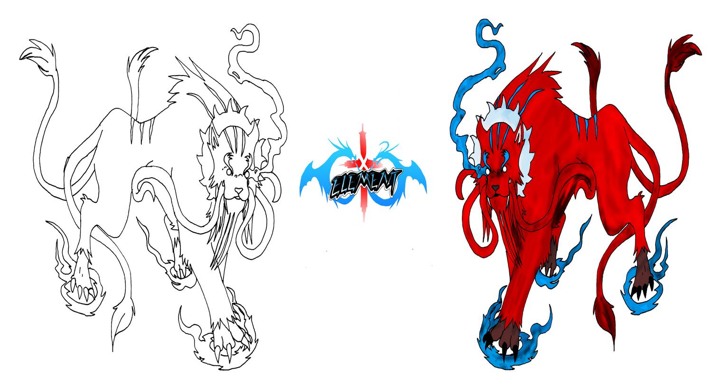 Flame Panther