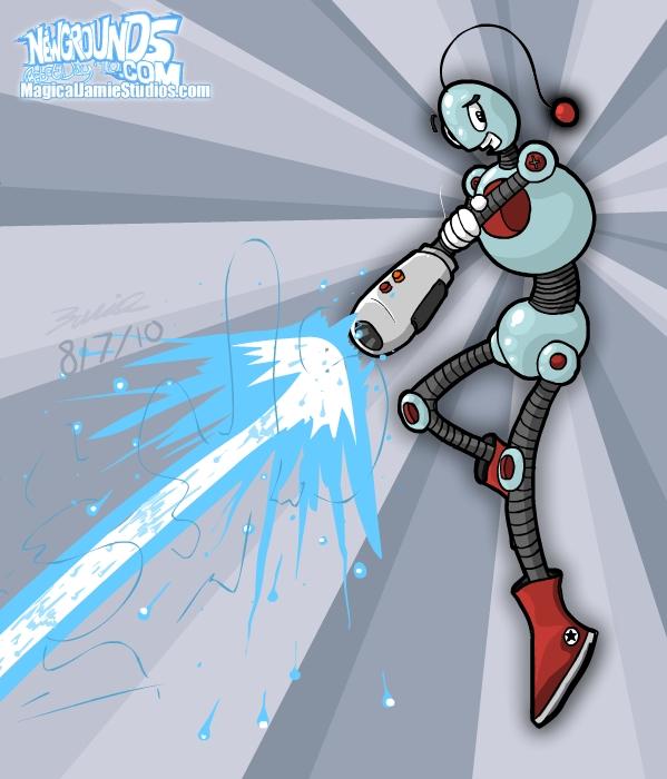 MagixBot Blastin' Away