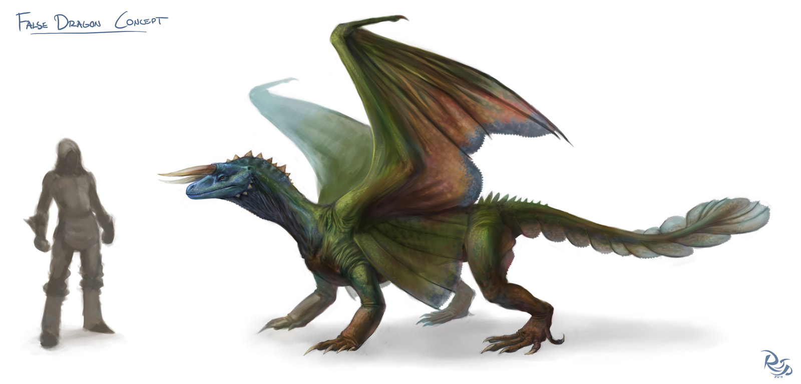 False Dragon Concept
