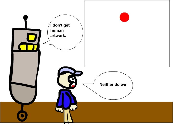 My Horrible Robot comic