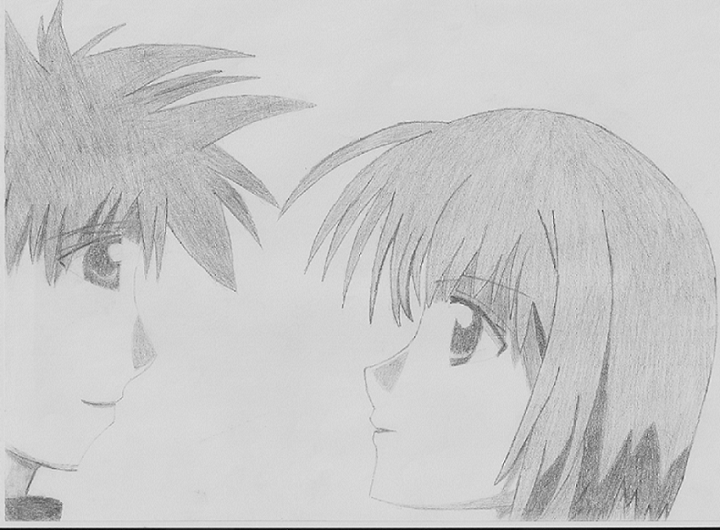 Daisuke and Riku's Moment