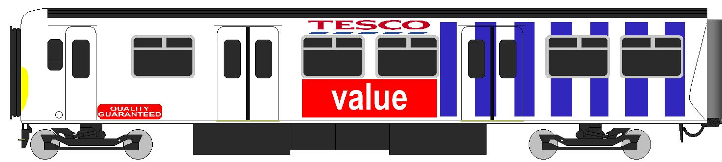 tesco train