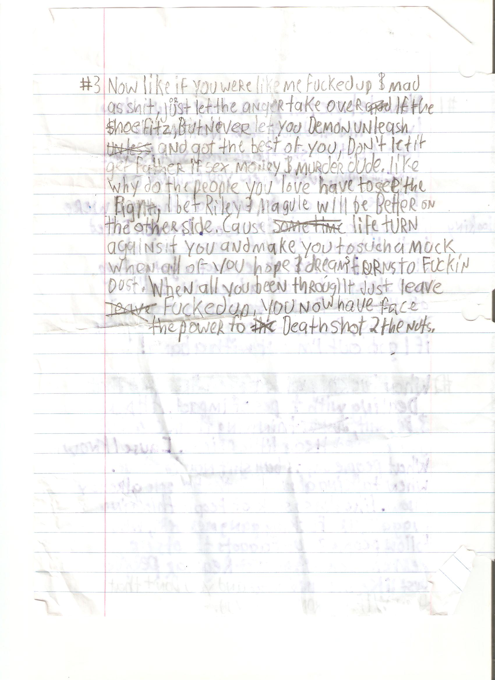 Knuklez Writing (back)