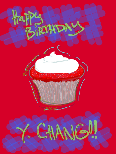 Happy Birthday Y. Chang!
