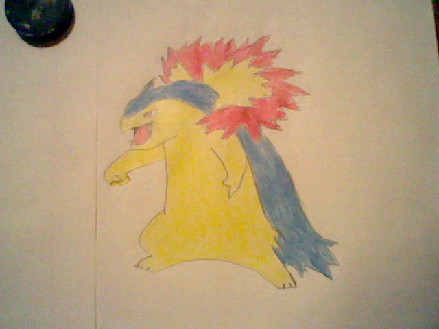 Typhlosion by SilverQuilava