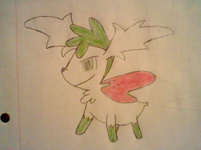 Shaymin by SilverQuilava