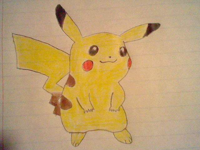 Pikachu by SilverQuilava