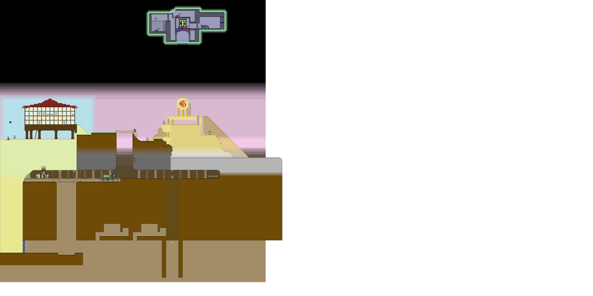 Pixel World Doodle (unf)