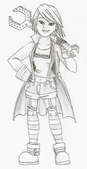 Steampunk Mechanic Girl