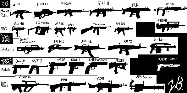 My Gun Silhouettes