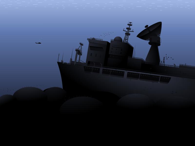 Wreck of the Vandenberg