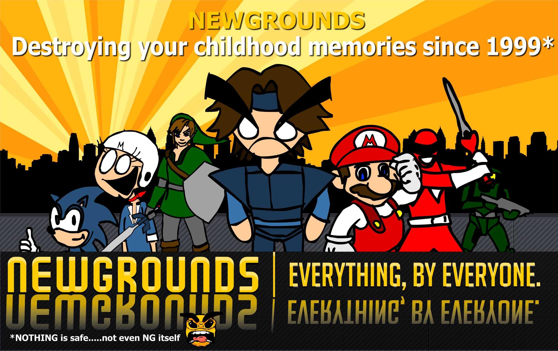 Newgrounds Parodies