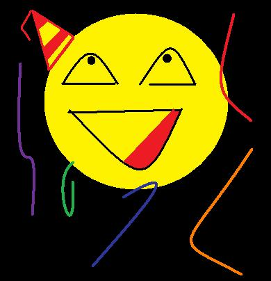 Party Smiley